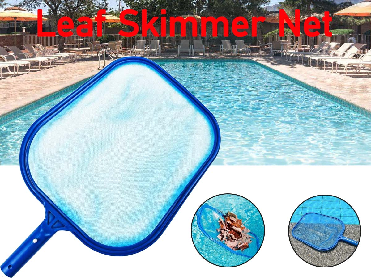 Details about Swimming Pool Leaf Skimmer Fishing Net Cleaning Tool Portable  Cleaning Equipment