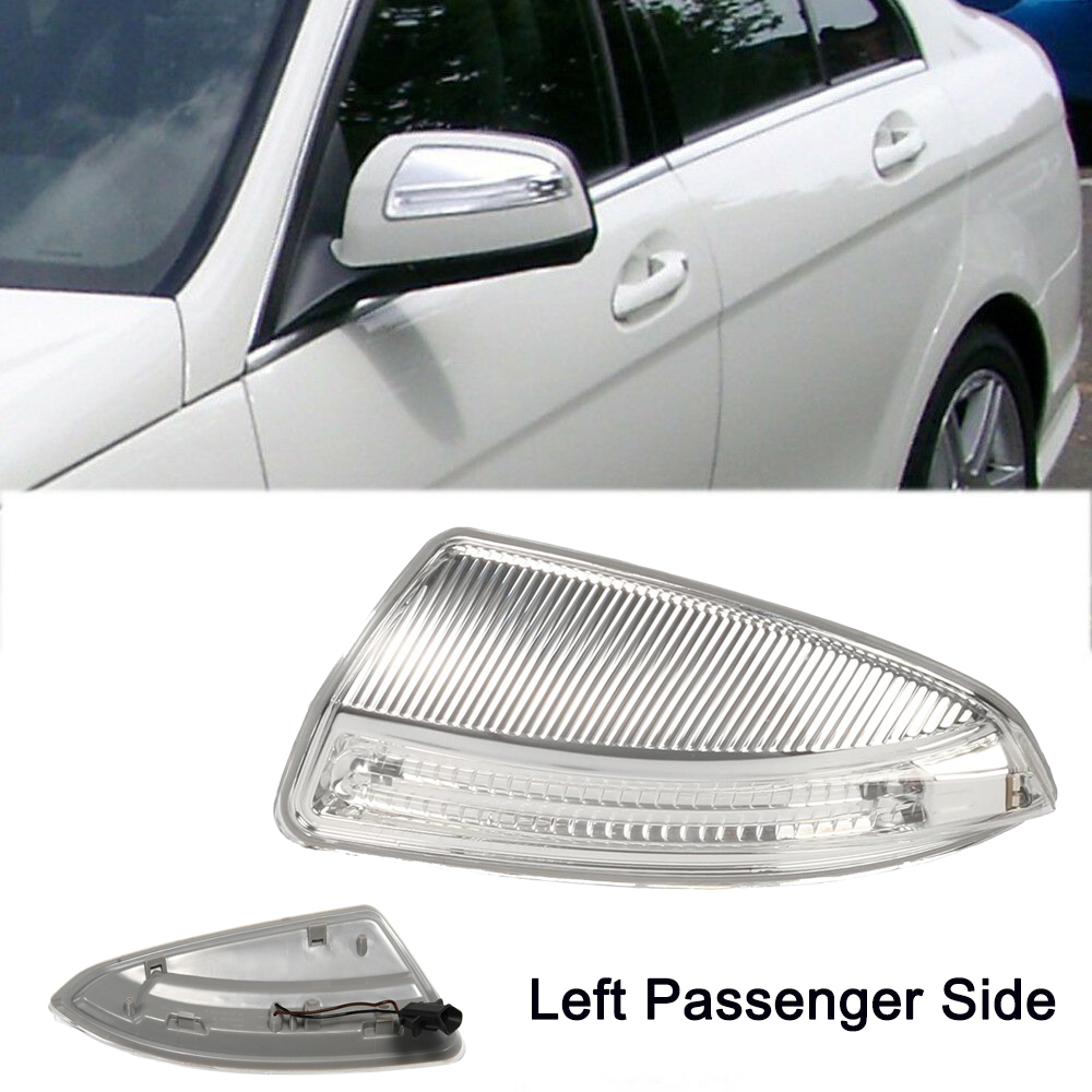 Left Passenger Side Mirror Indicator Lamp