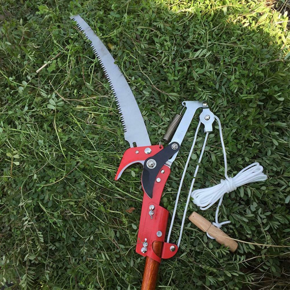 Saw Pruning High Branch Garden Blade Cutter Pruner Pole Limb Tree Trimmer UK