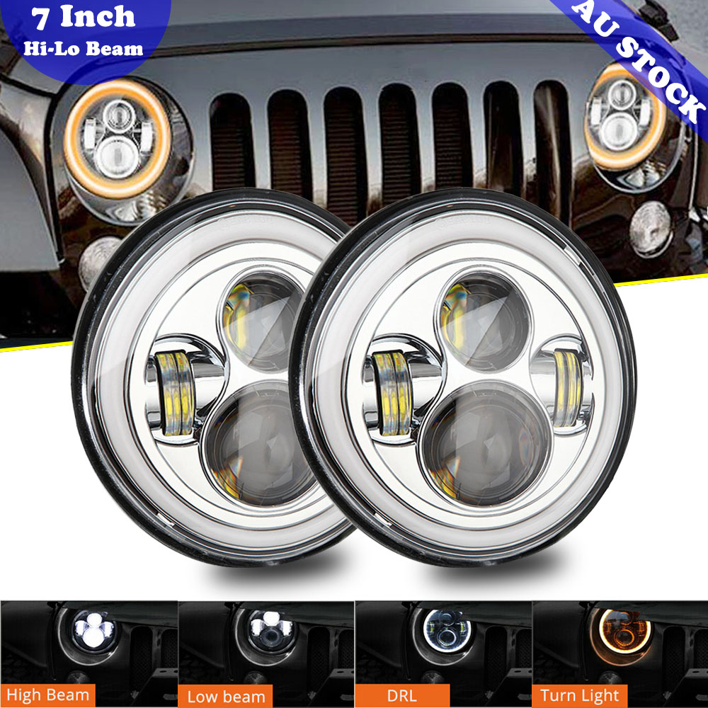 2007 Freightliner FLD SD MID-ROOF Side Roof mount spotlight 6 inch Driver side WITH install kit -Chrome LED