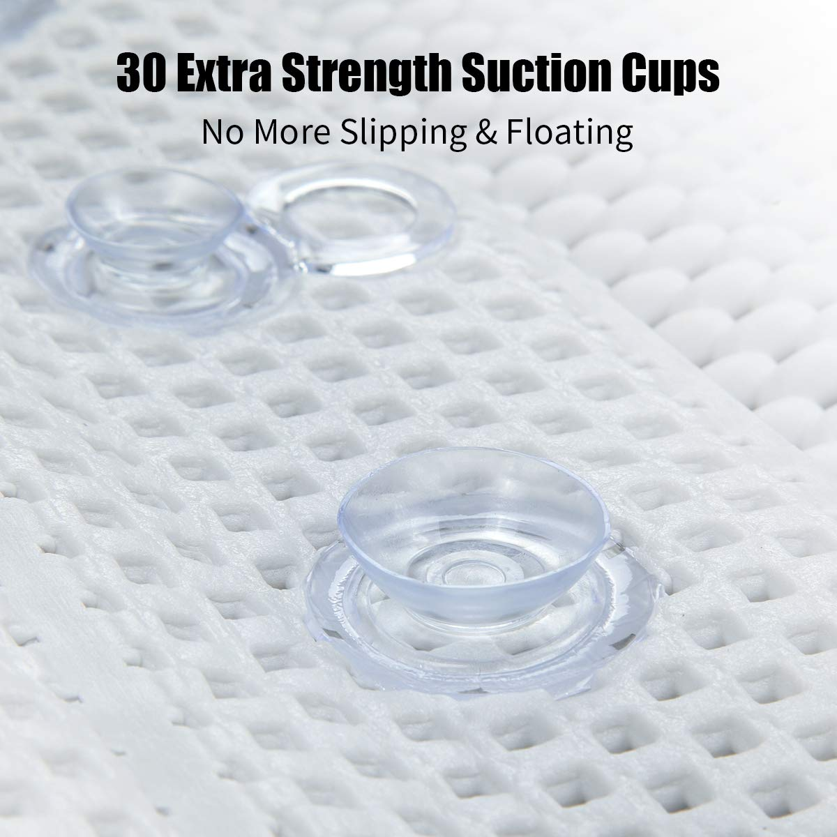 Bathtub Full Body Comfort Spa Pillow and Spa Cushion Mat Bath with Suction Cups