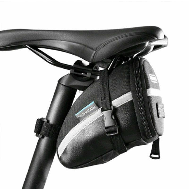 Roswheel Portable 16-in-1 Bicycle Saddle Bag Rear Bike MTB Tire Repair Tool Kit