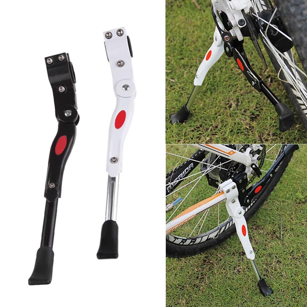 "Adjustable Heavy Duty Mountain Bike Bicycle Prop Side Reak Kick Stand 24-28/"""