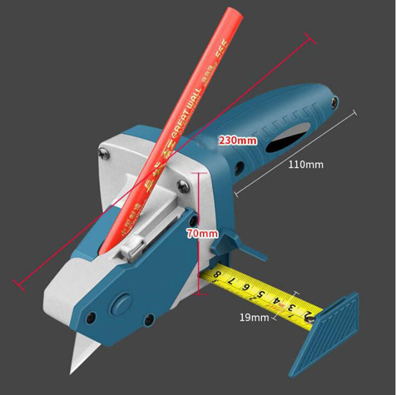Details about  /Woodwork Gypsum Board Cutting Tool Kit Scriber Drywall Artifact with Scale USA