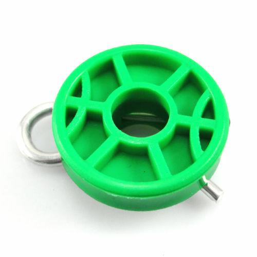4493433 Saab NG 900//9-3//9-5 rodillos Regulador de Ventana Verde Par