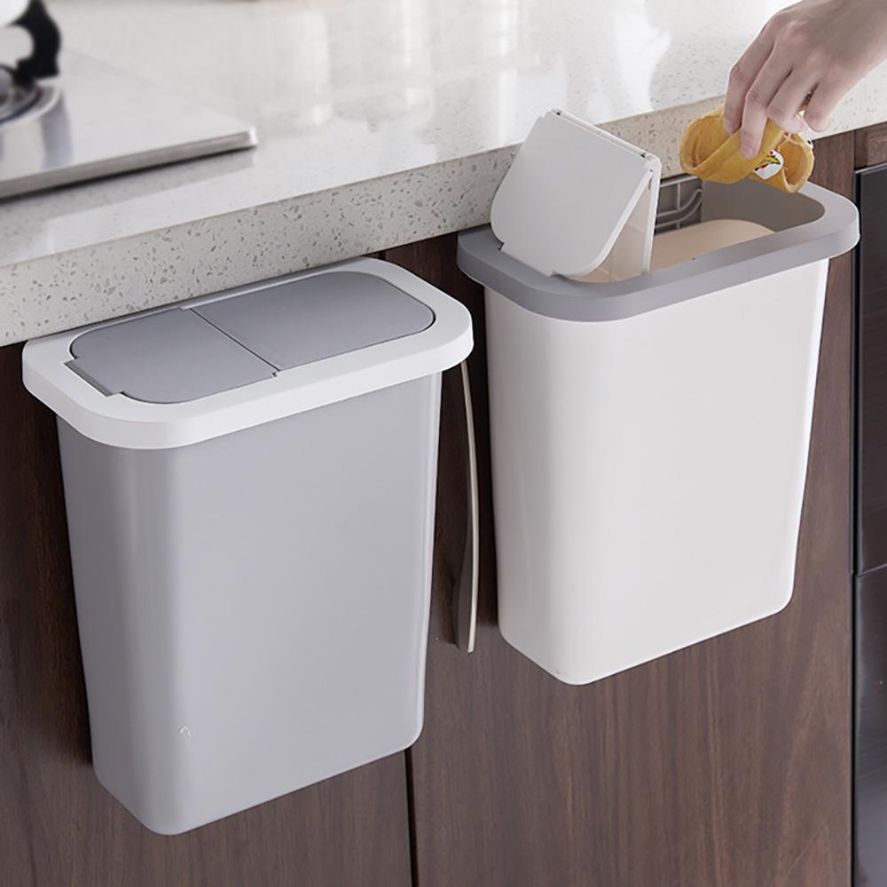 Hängender Müll Abfalleimer Mülleimer Küche Car Bad zusammenklappbar Wandmontage